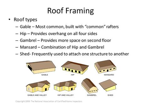 Introduction to Roofing Concepts and Roof Framing - ppt video online ...