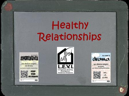 Healthy Relationships. Purpose of the Presentation Dynamics of a Healthy Relationship Boundaries - Safe Touch Signs of Controlling Behavior and bullying.