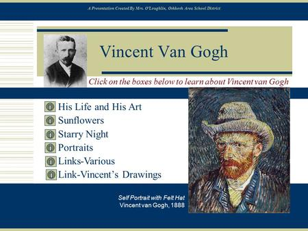 Vincent Van Gogh His Life and His Art Sunflowers Starry Night