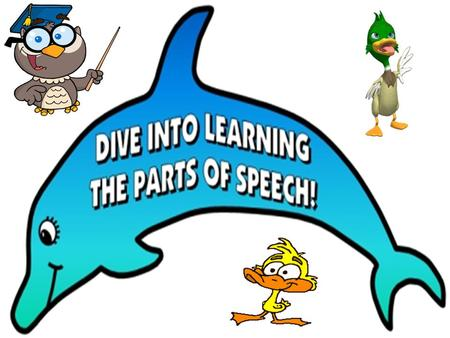 Learning the parts of speech is a focus of Language Arts instruction and is vital stage in writing development. The parts of speech make up sentences.
