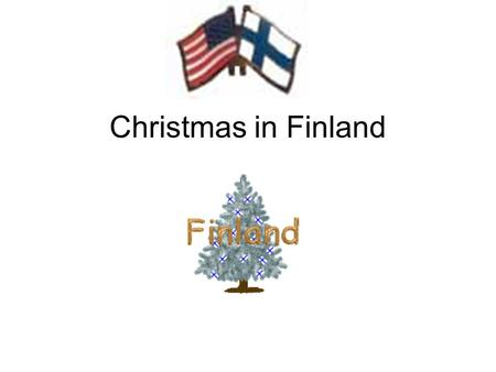 Christmas in Finland. Evangelical Lutheran celebration.