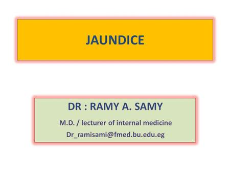M.D. / lecturer of internal medicine
