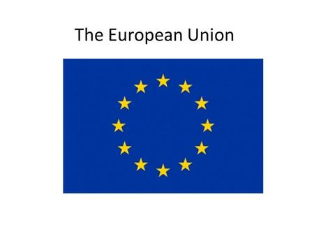 The European Union. History of the European Union 1951ECSC with Belgium, France, Italy, Federal Republic of Germany, The Netherlands and Luxembourg; Founding.