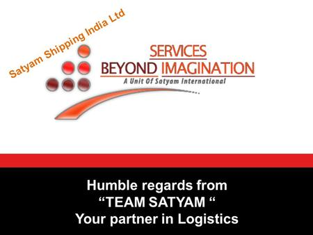 Your partner in Logistics