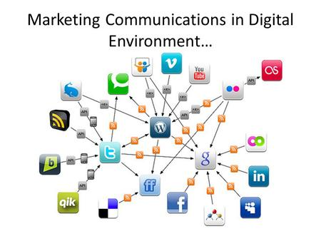 Marketing Communications in Digital Environment….