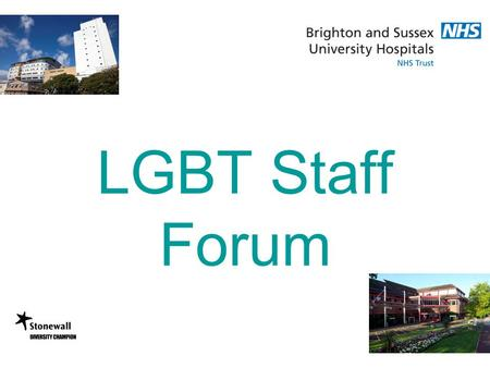 LGBT Staff Forum. Homophobia … what is it exactly? Defined as fear of, aversion to, or discrimination against homosexuality or homosexuals, the reasons.