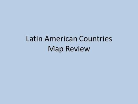 Latin American Countries Map Review. Mexico Nicaragua Panama Colombia Haiti Puerto Rico Jamaica Honduras The Bahamas Cuba United States Belize Guatemala.