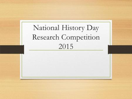 National History Day Research Competition 2015. National History Day (NHD) Web Sites National History Day contest