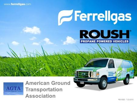 REVISED: 7-23-2010 American Ground Transportation Association.