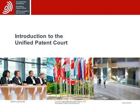 Introduction to the Unified Patent Court