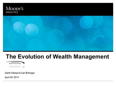 The Evolution of Wealth Management