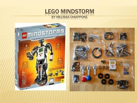  LEGO MINDSTORMS is a programmable robotics construction set that gives you the power to create and command your own LEGO robots. The new LEGO MINDSTORMS.