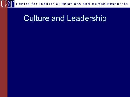 Culture and Leadership. Agenda What is leadership? What are cultural differences in leadership? How to be an effective leader across different cultures?–