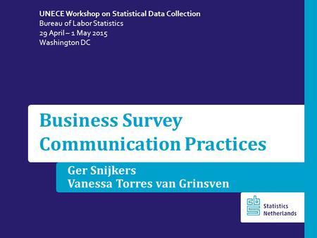 designing and conducting business surveys snijkers ger haraldsen gustav jones jacqui willimack diane