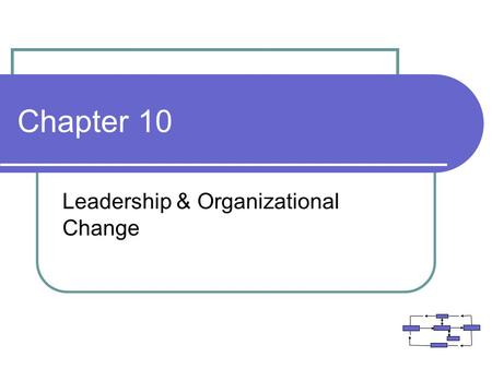 <strong>Leadership</strong> & Organizational Change