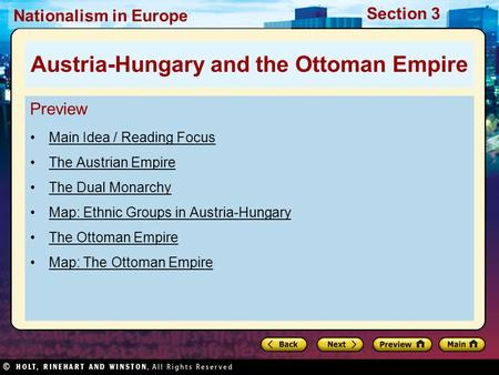 Austria-Hungary and the Ottoman Empire