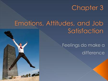 What are emotions and moods? What do emotions and moods influence behavior in organizations? What are attitudes? What is job satisfaction and what are.