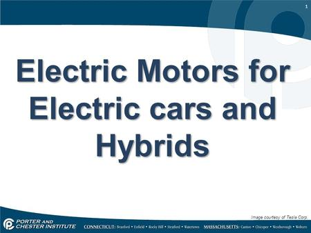 Electric Motors for Electric cars <strong>and</strong> Hybrids