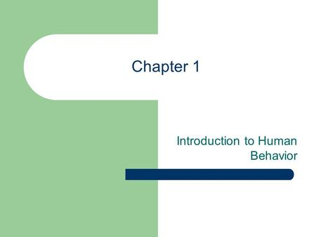 Chapter 1 Introduction to Human Behavior. What is Behavior? What is meant by Human Behavior? Examples of human behavior and activities Factors affecting.