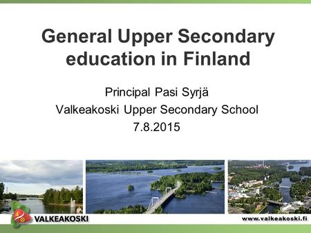 General Upper Secondary education in Finland