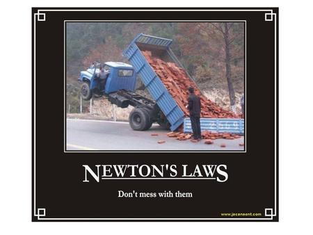 2.4: Newton's Second Law of Motion What if... If you kept increasing the amount of applied force on an object, would its acceleration increase or decrease?