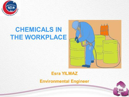 CHEMICALS IN THE WORKPLACE Esra YILMAZ Environmental Engineer.