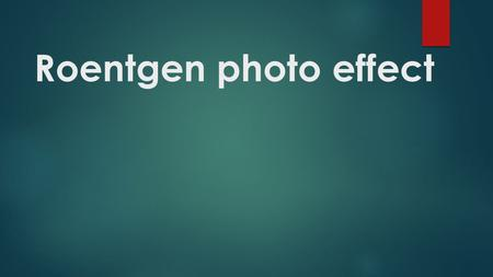 Roentgen photo effect. This detailed, thoroughly explained lesson will show you how to create very attractive roentgen photo effect. You can use this.