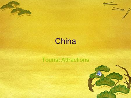China Tourist Attractions. Great Wall of China One of the eight wonders of the world.