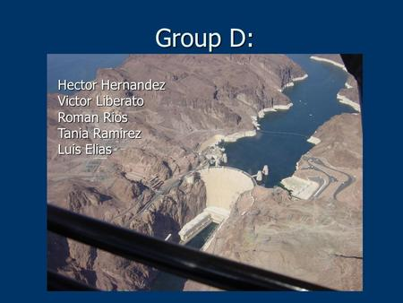 The Construction of Hoover Dam - ppt video online download