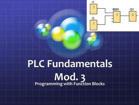 Programming with Function Blocks