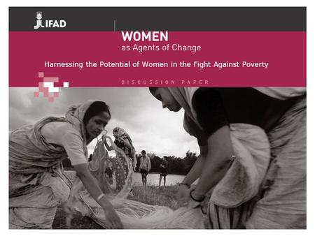 Harnessing the Potential of Women in the Fight Against Poverty