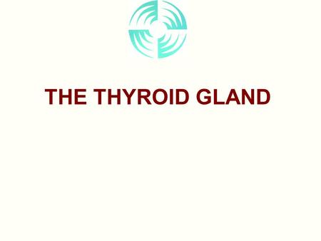THE THYROID GLAND. Anatomical Structure Gross Anatomy Located in neck –lobes –isthmus Relations –Larynx –Trachea –Recurrent laryngeal nerves –Parathyroid.