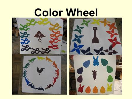 Color Wheel. Step 1: You will need to get 12x18 inch white paper to paint on.