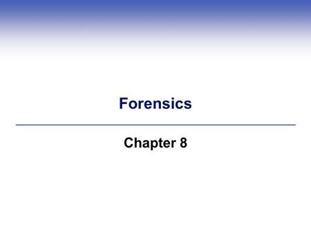 Forensics Chapter 8. Central Points  DNA testing can determine identity  DNA profiles are constructed in specialized laboratories  DNA profiles used.