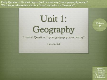 geography is destiny book
