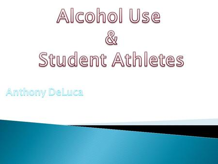  During the 1980's, the connection between collegiate athletic participation and substance use gained increasing attention throughout the United States.
