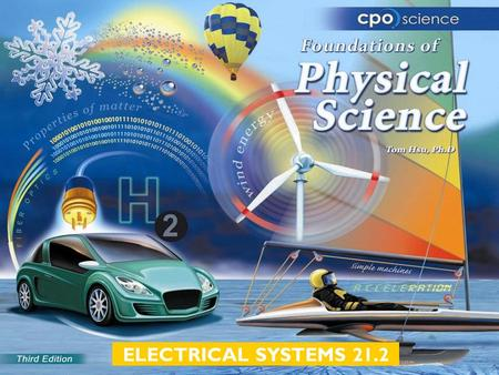 ELECTRICAL SYSTEMS 21.2. Chapter Twenty One: Electrical Systems  21.1 Series Circuits  21.2 Parallel Circuits  21.3 Electrical Power.