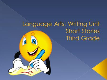  This unit consists of five lessons that progressively walk the students through the steps needed to create a short story. The unit concentrates on using.