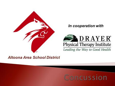 Altoona Area School District In cooperation with.