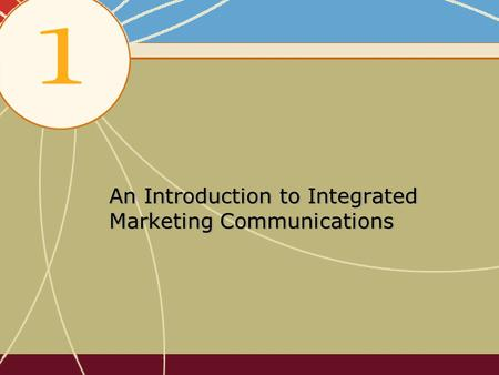 An Introduction to Integrated Marketing Communications.