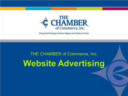 THE CHAMBER of Commerce, Inc. Website Advertising.