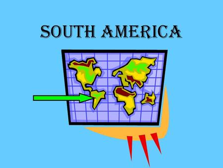 South America. Where is South America? South America is to the north of Antarctica South America is between the Pacific Ocean and the Atlantic Ocean.