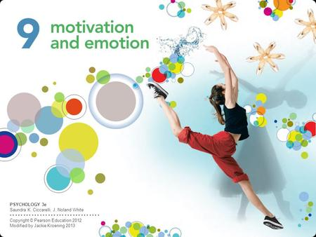 otivation ** Start of activity to meet physical or psychological need