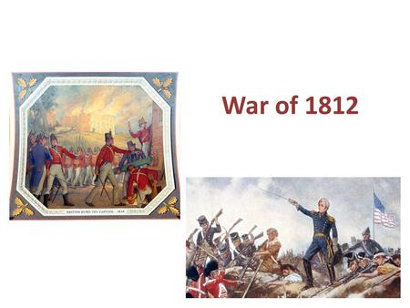 war 1812 essay War of 1812, (june 18, 1812–february 17, 1815), conflict fought between the united states and great britain over british violations of us maritime rightsit ended with.