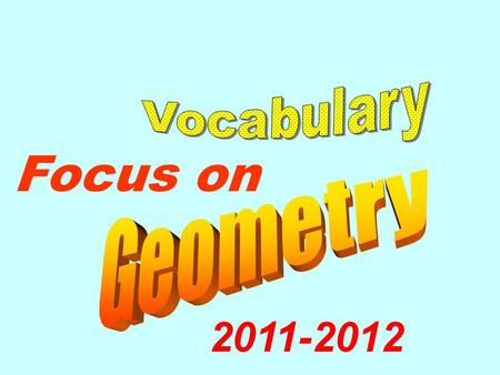 Focus on 2011-2012. Can you spell each word correctly ?