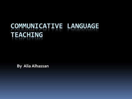 By Alia Alhassan. 2lteachers represent language skills as follows  Communication =language skills  Speaking  Writing active =productive  Reading 