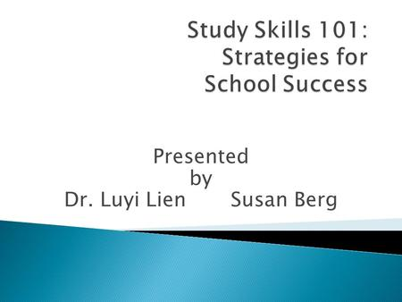 Study Skills 101: Strategies for School Success