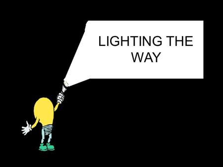 LIGHTING THE WAY Section Vocabulary Energy- the ability to do work or cause a change in matter Electromagnetic radiation- energy in the form of waves.