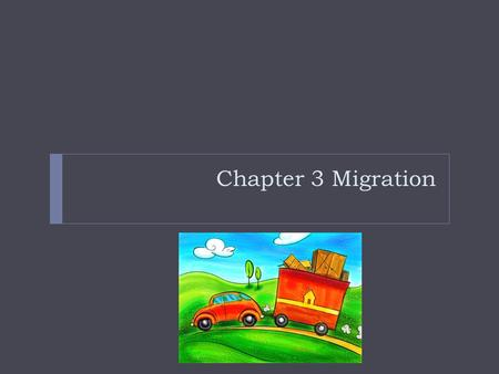 Chapter 3 Migration. Introduction  People move because of push or pull factors. Sometimes it's a combination of both  E.G. Ravenstein identified 11.