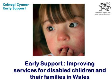 Early Support : Improving services for disabled children and their families in Wales.